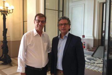 Prefeito e Deputado Frederico Antunes
